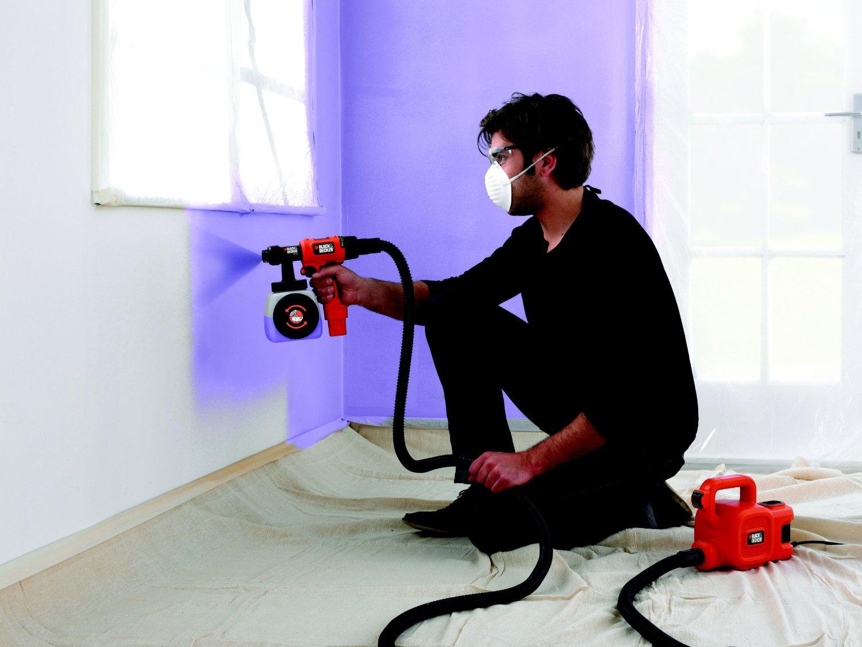 avis test pistolet peinture black decker hvlp400 outils et bricolage. Black Bedroom Furniture Sets. Home Design Ideas