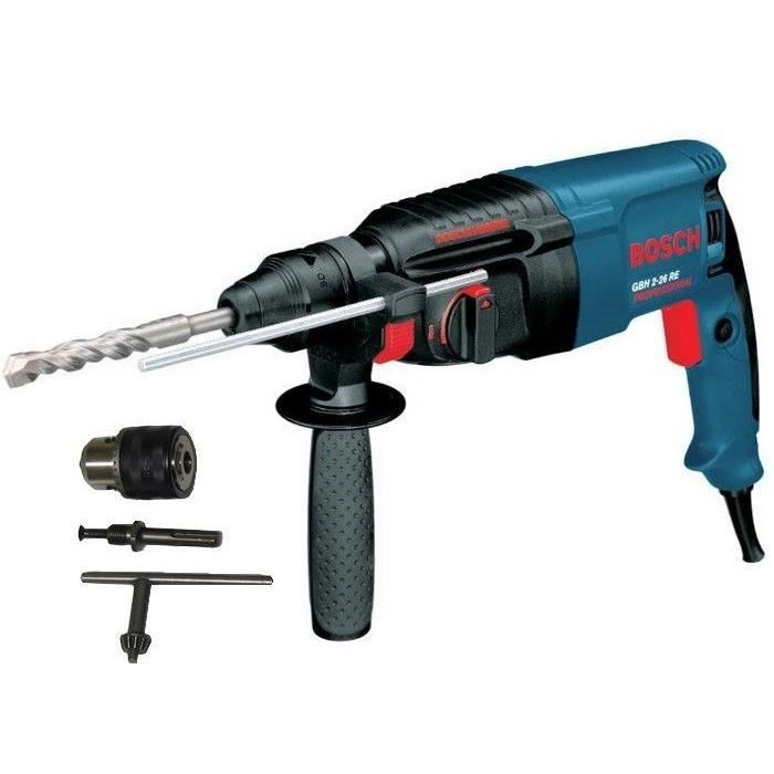 bosch-gbh2-26re-perforateur-sds-800w-2e-mandrin Avis Perforateur pro DeWalt dCH253M2