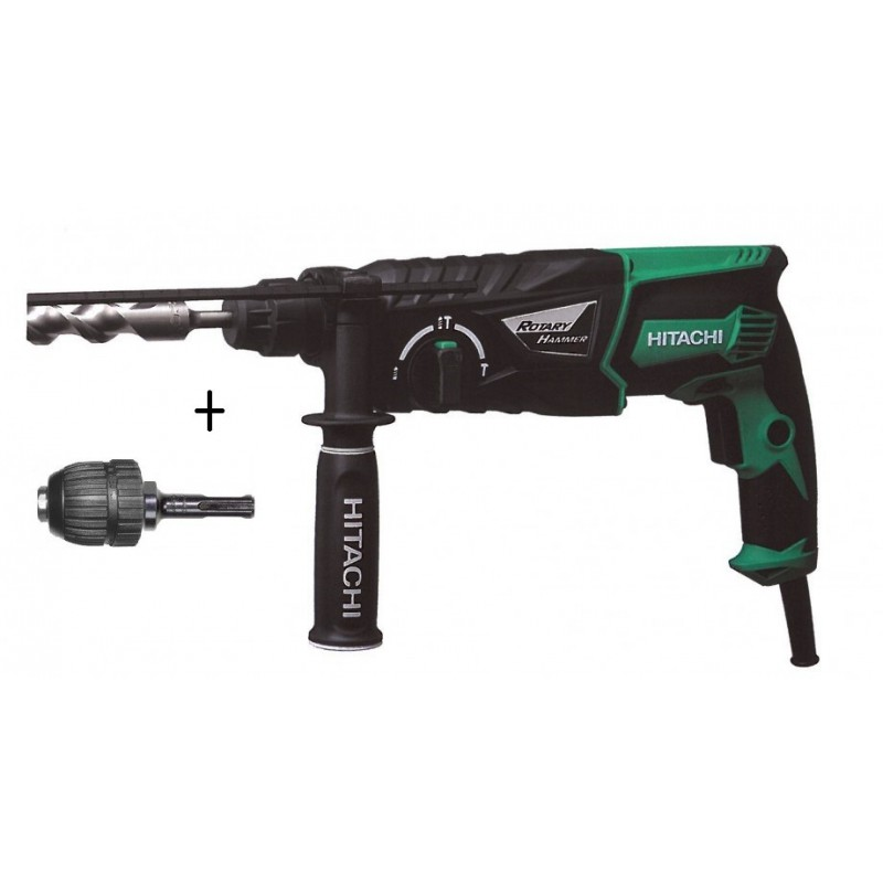 hitachi-dh26px-perforateur-26mm-sds-830-w-32-joules-dh26pc-mandrin-2 Avis Perforateur pro DeWalt dCH253M2