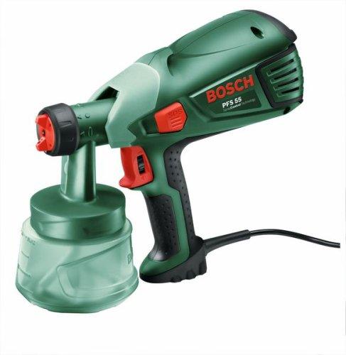 Bosch-Pistolet-de-peinture-pour-bois-et-lasures-Easy-PFS-55-1 √ Pistolet peinture Wagner FinishControl 3500, avis, test comparatif
