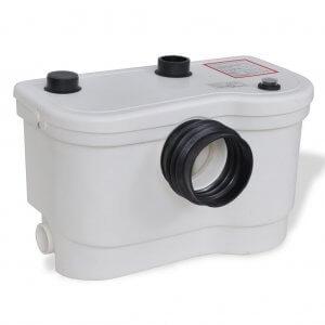 vidaXL-Système-pompe-de-relevage-de-toilette-Broyeur-sanitaire-WC-Blanc-800-W-6-300x300 <center>Broyeur sanitaire quel est le meilleur, guide comparatif