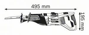 scie sabre Bosch GSA 1100 E