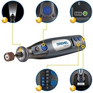 Dremel Micro 8050-35 Outil rotatif multi-usage sans fil 6