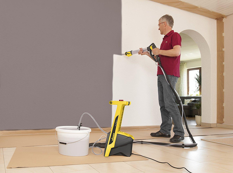 peinture maison neuve au pistolet elegant peintre maison exterieure gratuit peinture ma alger. Black Bedroom Furniture Sets. Home Design Ideas