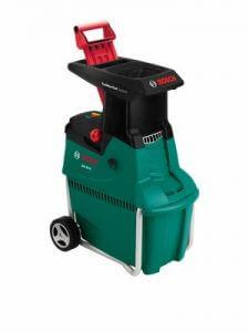 Bosch Broyeur silencieux de végétaux AXT 25 TC avec bac de ramassage 53 L et système de coupe Turbo-Cut 1