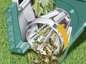 Bosch Broyeur silencieux de végétaux AXT 25 TC avec bac de ramassage 53 L et système de coupe Turbo-Cut 3