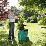 Bosch Broyeur silencieux de végétaux AXT 25 TC avec bac de ramassage 53 L et système de coupe Turbo-Cut 4
