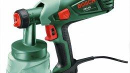 Bosch Pistolet de peinture pour bois et lasures Easy PFS 55 1