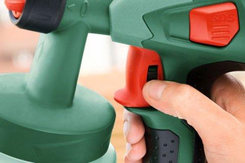 avis pistolet peinture bosch pfs 55 easy pour bois et lasures. Black Bedroom Furniture Sets. Home Design Ideas