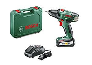 perceuse bosch sans fil pas cher rapport qualité prix verte 2 batterie top must